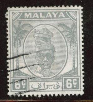 MALAYA Perak Scott 109 used stamp from 1950