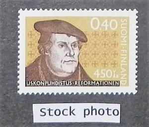 Finland 449. 1967 40p Martin Luther, NH