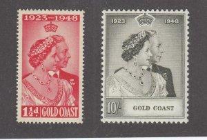 GOLD COAST VF-MNH KGV1 SILVER WEDDING PO FRESH