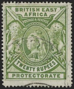 British East Africa Scott 108 Gibbons 98 Used Stamp