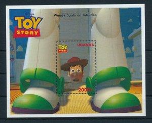 [23211] Uganda 1997 Disney Movie Toy Story MNH