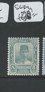 MALAYA TRENGGANU (P0810B) SULTAN 8C  SG 34A  MOG