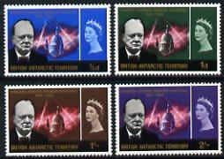 British Antarctic Territory 1966 Churchill Commem set of ...