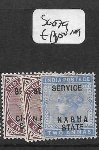 INDIA NABHA (P3009B) QV SERVIC SG O7-9  MOG