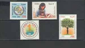 SYRIA: SY-02  / **GOOD LOT OF MODERN ISSUES**/ Complete Sets / MNH