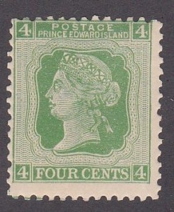 Prince Edward Island # 14, Queen Victoria, Mint Hinged, 1/3 Cat.