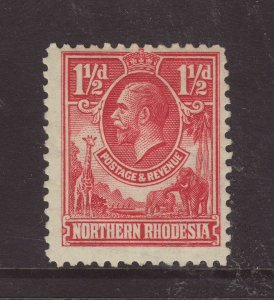 1925 Northern Rhodesia 1½d Mounted Mint SG3