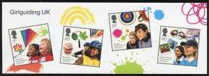 Great Britain Scott 2746 MVF-XFNHOG - Centennial of Girl Guides - SCV $9.50