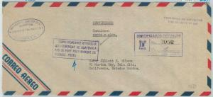 79020 - GUATEMALA - Postal HIistory -  OVERSIZED COVER official mail AGRICOLTURE