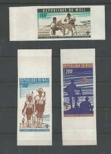 1976 Boy Scouts Mali 1st African Jamboree Imperf