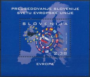 Slovenia stamp Slovenias accession to the European Union block MNH WS229565