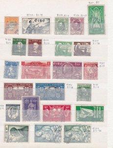 IRELAND  ^^^^^^1941-54      used  better collection  $$ @ cam41xxbire