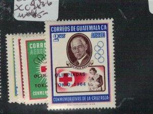 Guatemala Olympics SC 283-6 MNH (1exs)