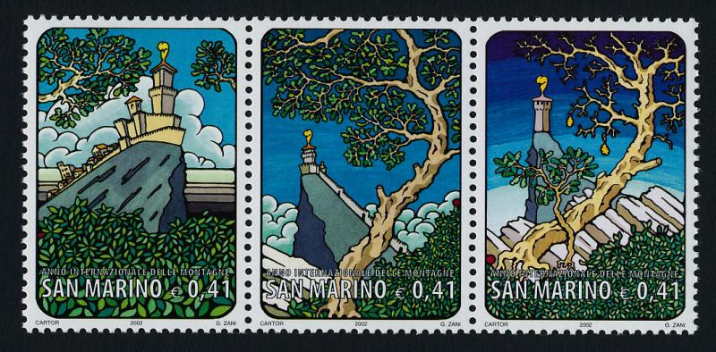 San Marino 1538 MNH International Year of Mountains