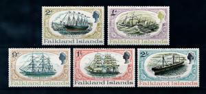 [71967] Falkland Islands 1970 History the Great Britain Ships  MNH