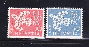Switzerland 410-411 Set MNH Europa