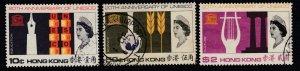 Hong Kong Sc 231-233, used