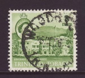 1960 Trinidad 8c Governor General House F/U