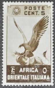 DYNAMITE Stamps: Italian East Africa Scott #2 - MINT hr