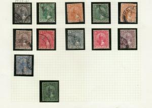 PERAK 1938-41 SET MINT / USED TO 50C