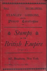 Stanley Gibbons, Part 1, 1902 Stamps of the British Empire, used.