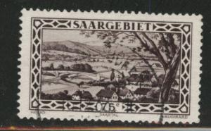 Saar Scott 128 Used stamp