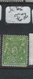 BRITISH EAST AFRICA   (P3105B)  QV    LIONS  1/2A     SG 65      MOG