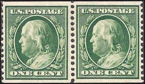 352 Mint,OG,H... Pair... SCV $260.00