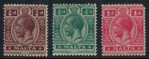 Malta #49-50* CV $3.75