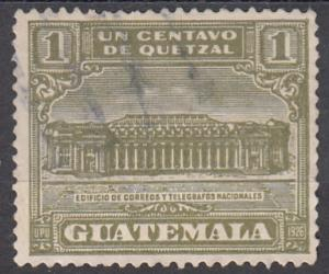 Guatemala, Scott # RA2, Used, 1927, Telegraph Building