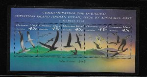 BIRD - CHRISTMAS ISLAND #349f   MNH