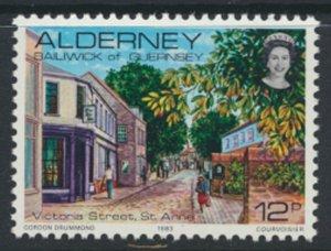 Alderney  SG A6  SC# 6  1983 Definitive  Street   MNH  see scan