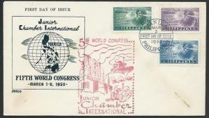 PHILLIPPINES 1950 Junior Chamber of Commerce FDC...........................56368