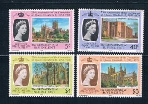 St Vincent - Grenadines 153-56 MNH set Coronation Issues 1978 (S0905)