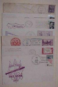 HAWAII SUBMARINES VROSBY 1935 ARGONAUT,GREYBACK,FLASHER,PLUNGER,BARD,KAMEHAMEHA