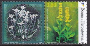 Bosnia & Herzegovina, Flowers MNH / 2003