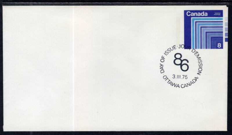 Canada Unitrade U104 Postal Envelope Unused VF
