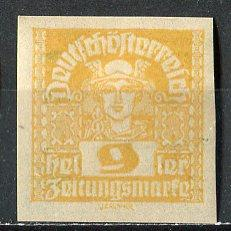Austria; 1921: Sc. # P34: **/MNH Single. Stamp
