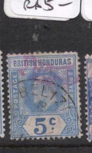 British Honduras SG 97 See Cancel VFU (2dhw)