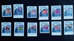 50th anniversary of EUROPA stamps - Central African Republic complete set ** MNH