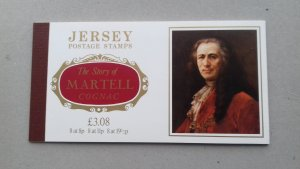Jersey 1982 Links with France Martell Cognac Booklet