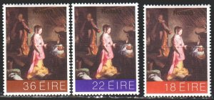 Ireland. 1981. 455-57. Christmas, Baroque paintings. MNH.