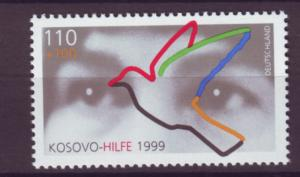 J20591 Jlstamps 1999 germany set of 1 mnh #b848 human rights