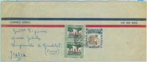 84265 - COLOMBIA - AIRMAIL COVER to ITALY 1958 - Petrol COFFEE