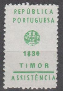 Timor #RA14  MNH  F-VF CV $16.00 (SU1718)