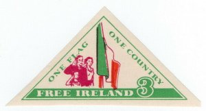 (I.B) Ireland Political : One Flag, One Country (Tricolour)