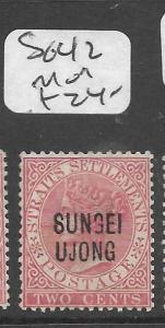 MALAYA SUNGEI UJONG (P0501B) QV 2C  SG 42   MOG