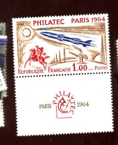 FRANCE #1100 MINT VF OG LH Cat $25