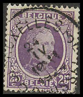 Belgium 151 Used VF