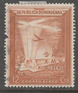Dominican Republic C80 Columbus Lighthouse 1953